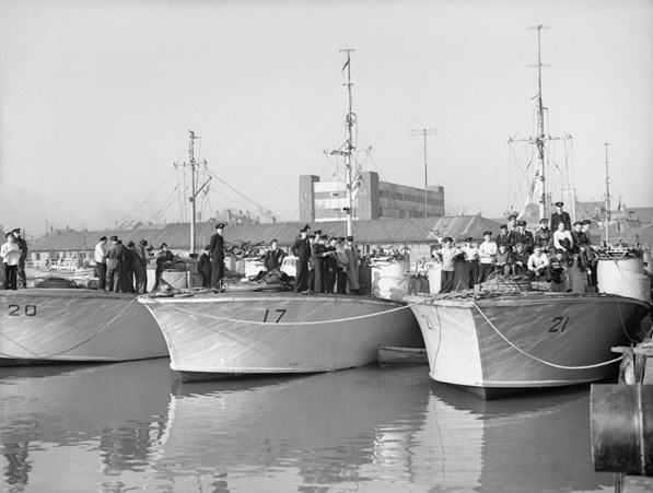 Lowestoft Motor Gun boats
