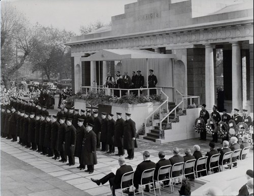 Tower Hill unveiling