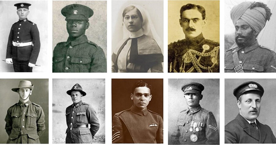 Commonwealth casualties of the First World War
